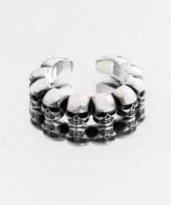 انگشتر جمجمه skull ring