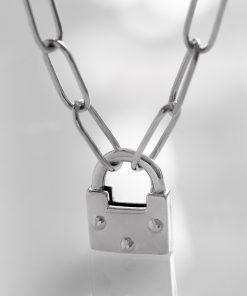گردنبند قفل